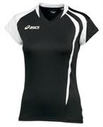 Майка волейбольная Asics T-SHIRT FANNY LADY T751Z1-9001