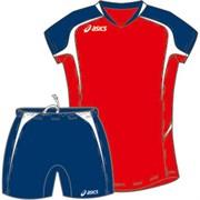 компл волейбольный  (майка+шорты) Asics SET AREA LADY T225Z1-2650