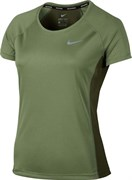 Майка л/атлетическая Nike W NK DRY MILER TOP CREW 831530-387