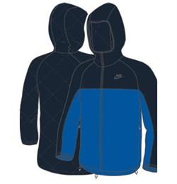 Куртка демисезонная Nike PADDET REVERSIBLE JACKET 266002-452 - фото 10034
