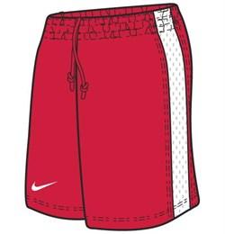 Шорты баскетбольные Nike Womens Supreme Shorts 119803-614 - фото 10087