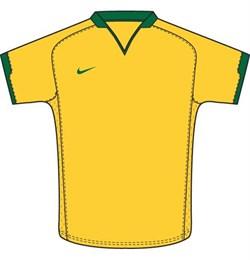 Майка футбольная Nike Herren Sport Trikot DriFit Brasil Touch 269386-705 - фото 10090