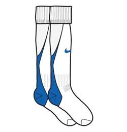 Гетры Nike CLUB GAME DAY SOCK 119824-101 - фото 10097
