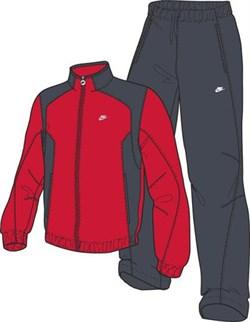 Костюм спортивный Nike WARM UP SOFT POLY 329610-611 - фото 10116