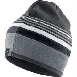 Шапочка Nike BEANIE-STRIPE REVERSIBLE 546115-060 - фото 10153