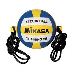 Мяч волейбольный утяжеленный Mikasa  V5ATTR-WYB - фото 10198