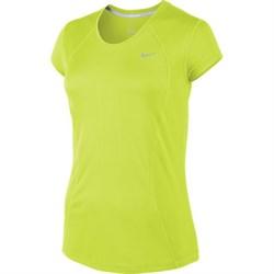 Майка л/атлетическая Nike Racer Short-Sleeve 645443-702 - фото 10546
