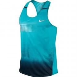 Майка л/атлетическая Nike DISTANCE SINGLET 547673-408 - фото 10551