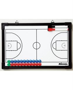 Доска тактическая баскетбольная MIKASA SB-B A1003907 - фото 10706