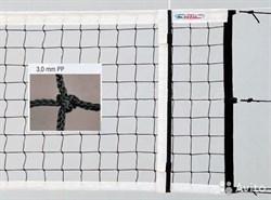 Волейбольная сетка с кевларовым тросом KV.REZAC 15015801-0 - фото 10708