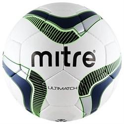 Мяч футзальный Mitre ULTIMATCH BB8015-WNB - фото 10729