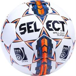 Мяч футбольный Select Brillant Super FIFA 810108-006 - фото 10731