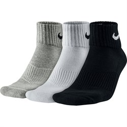 Носки Nike Cotton Cushion Quarter SX4703-901 - фото 11191