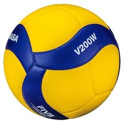 Мяч волейбольный Mikasa V200W - фото 11590