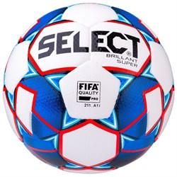 Мяч футбольный Select Brillant Super FIFA 810108-002 - фото 11632