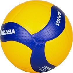 Мяч волейбольный Mikasa V300W - фото 11633