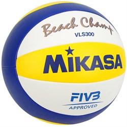 Мяч для пляжного волейбола MIKASA VLS300 - фото 11856