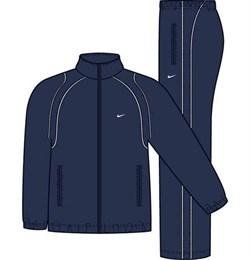 Костюм спортивный Nike FUNDAMENTAL WOVEN WARM UP 212128-451 - фото 7640