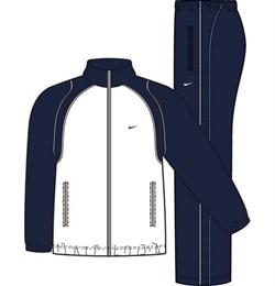 Костюм спортивный Nike FUNDAMENTAL WOVEN WARM UP 212128-455 - фото 7641