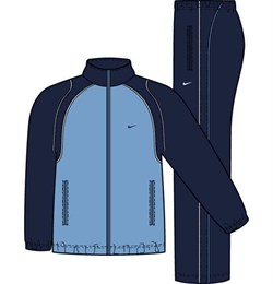 Костюм спортивный Nike FUNDAMENTAL WOVEN WARM UP 212128-457 - фото 7642