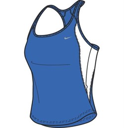 Майка л/атлетическая Nike  213129-435 - фото 7651