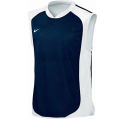 Майка баскетбольная Nike TEAM SPORTS REVERSIBLE TANK 219535-440 - фото 7659