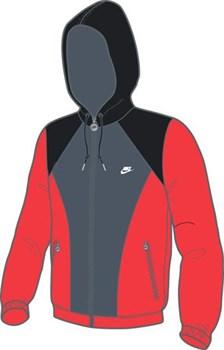 Куртка ветрозащитная Nike LIGHT WEIGHT JACKET 287644-835 - фото 7718