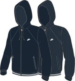 Куртка ветрозащитная Nike REVERSIBLE JACKET 341943-405 - фото 7762