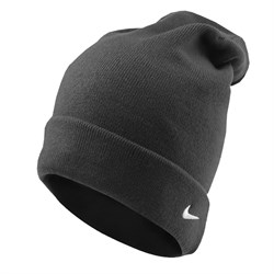 Шапочка Nike knitted oversize beanie 384137-010 - фото 7776