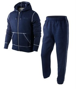 Костюм тренировочный Nike Fleece AD Heritage FZ Hooded Full Tracksuit 426007-458 - фото 7817