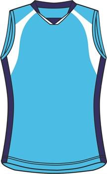 Майка волейбольная Ronix 268-4550 - фото 8395