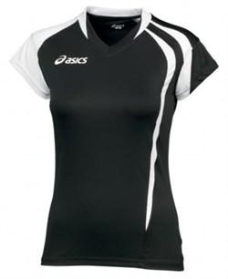 Майка волейбольная Asics T-SHIRT FANNY LADY T751Z1-9001 - фото 8548