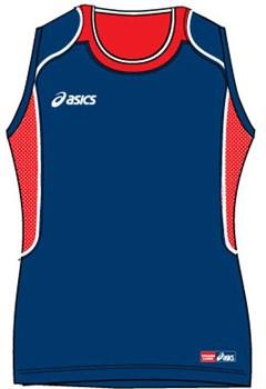 Майка волейбольная Asics SMANICATO PERUGIA T386Z1-5026 - фото 8626