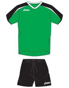 компл волейбольный  (майка+шорты) Asics SET OSAKA T206Z1-8090 - фото 8659