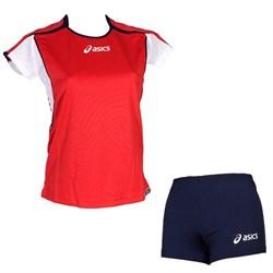компл волейбольный  (майка+шорты) Asics SET ATTACK LADY T209Z1-2650 - фото 8669