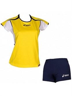 компл волейбольный  (майка+шорты) Asics SET ATTACK LADY T209Z1-QV50 - фото 8672