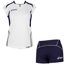 компл волейбольный  (майка+шорты) Asics SET OLYMPIC LADY T211Z1-0150 - фото 8673