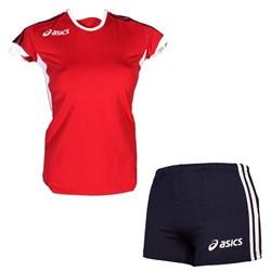 компл волейбольный  (майка+шорты) Asics SET AZZURRA T384Z1-2650 - фото 8693