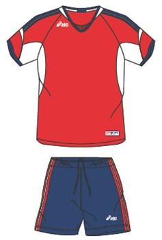 компл волейбольный  (майка+шорты) Asics SET NAZIONALE T385Z1-2650 - фото 8698