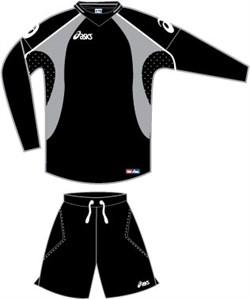 компл вратарский (свитер+шорты) Asics SET MONDIALE T332Z9-9090 - фото 8799