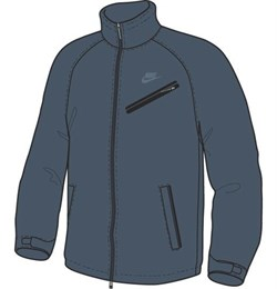 Куртка демисезонная Nike StormFIT Softshell Thermal Jacket 266007-467 - фото 9080