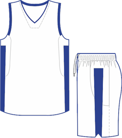 Комплект баскетбольный (майка+шорты) Ronix 607-0143 - фото 9266