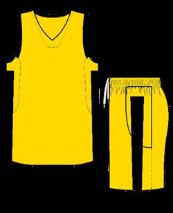 Комплект баскетбольный (майка+шорты) Ronix 607-1090 - фото 9268