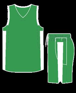 Комплект баскетбольный (майка+шорты) Ronix 607-8001 - фото 9269