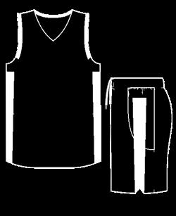 Комплект баскетбольный (майка+шорты) Ronix 607-9001 - фото 9270