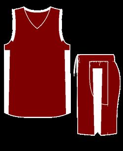 Комплект баскетбольный (майка+шорты) Ronix 607-2501 - фото 9271