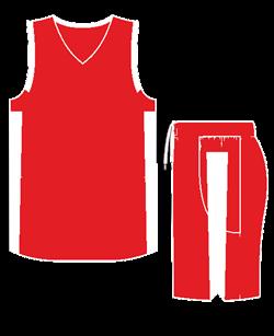 Комплект баскетбольный (майка+шорты) Ronix 607-2601 - фото 9272