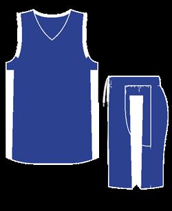 Комплект баскетбольный (майка+шорты) Ronix 607-4301 - фото 9273
