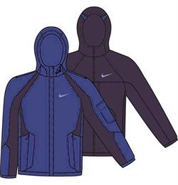 Куртка демисезонная Nike E NOW REVERSIBLE JACKET 215471-453 - фото 9292