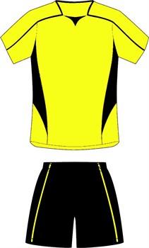 Комплект футбольный (майка+шорты) Ronix 211-1090 - фото 9293
